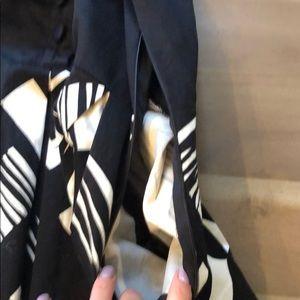 Donna Ricco Dresses - Black and cream dress